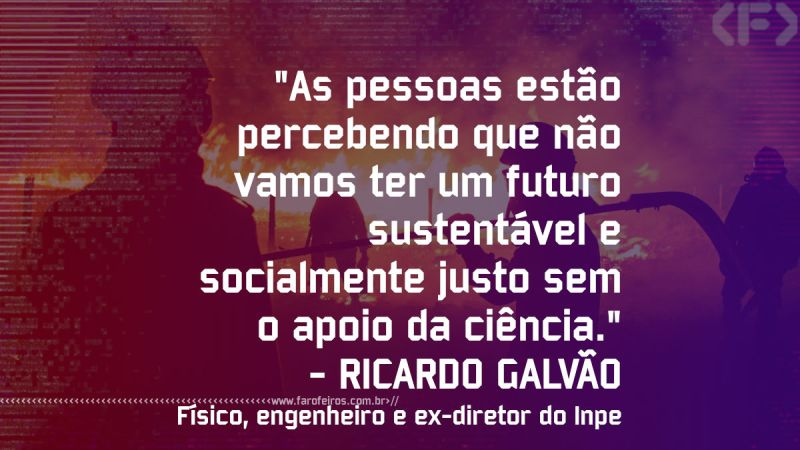 Pensamento - RICARDO GALVÃO - Blog Farofeiros