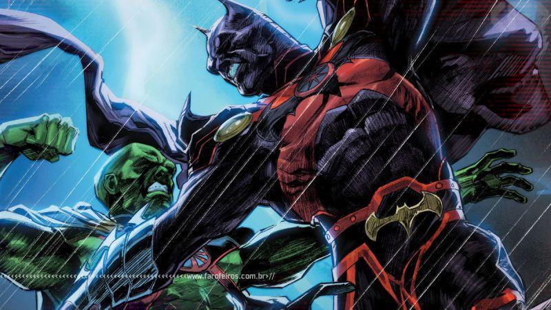 Batman Marciano - Justice League #53 - Outra Semana nos Quadrinhos #27 - Blog Farofeiros