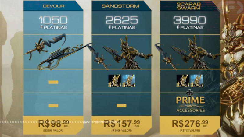 Platina - Warframe - Pay To Win - Blog Farofeiros