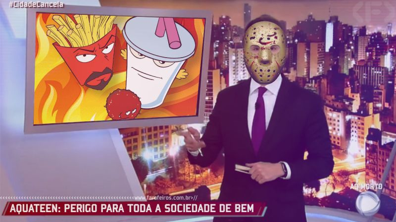 Por que o Adult Swim saiu do Brasil - Aquateen - Blog Farofeiros