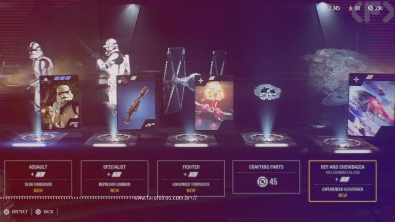 StarWars Battlefront II - loot box - Pay To Win - Blog Farofeiros