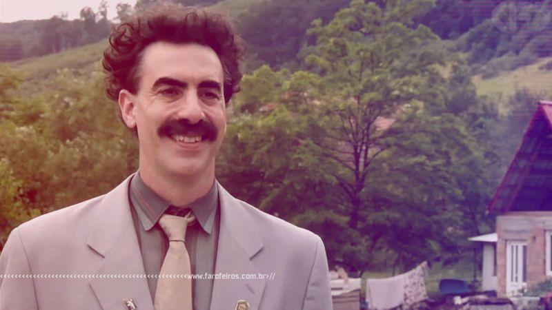 Não consegui assistir Borat 2 - Blog Farofeiros