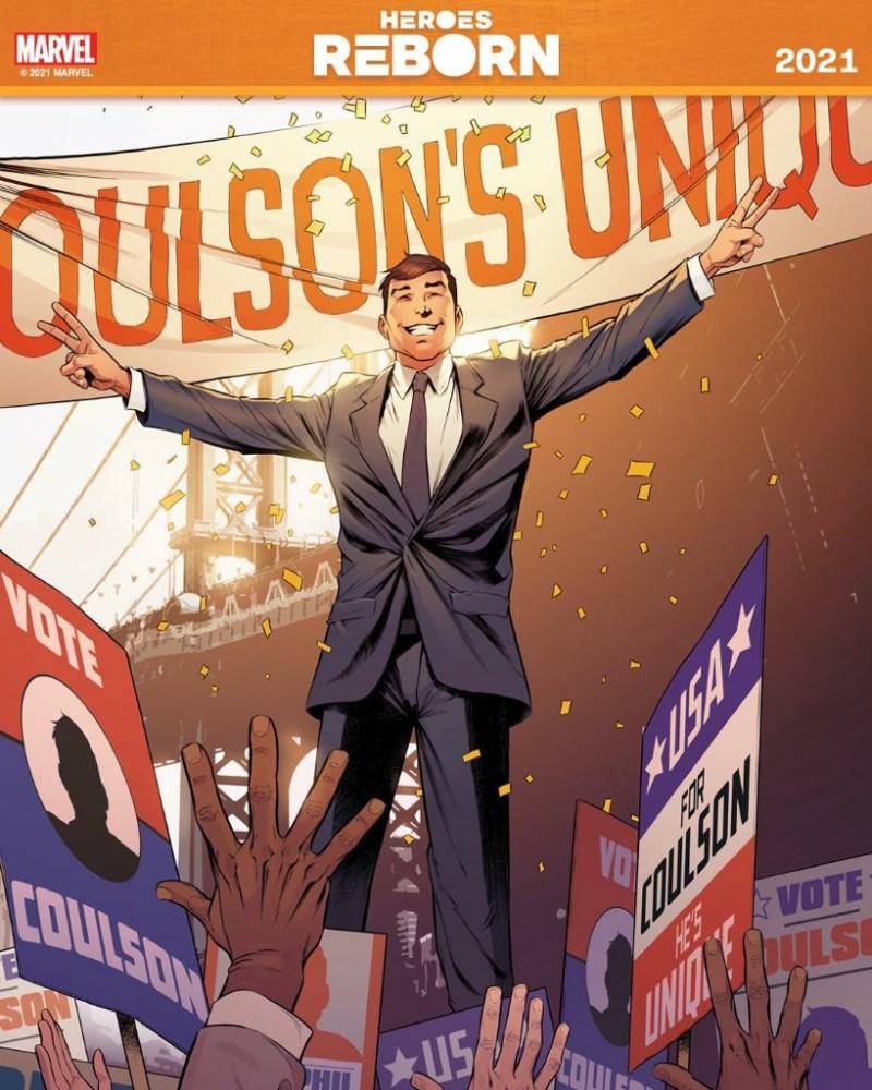Agente Coulson Presidente - Heroes Reborn 2021 - Heróis Renascem de novo em 2021 - Blog Farofeiros