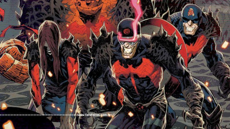 Todo mundo sorrindo - King In Black #2 - Marvel Comics - Outra Semana nos Quadrinhos #28 - Blog Farofeiros