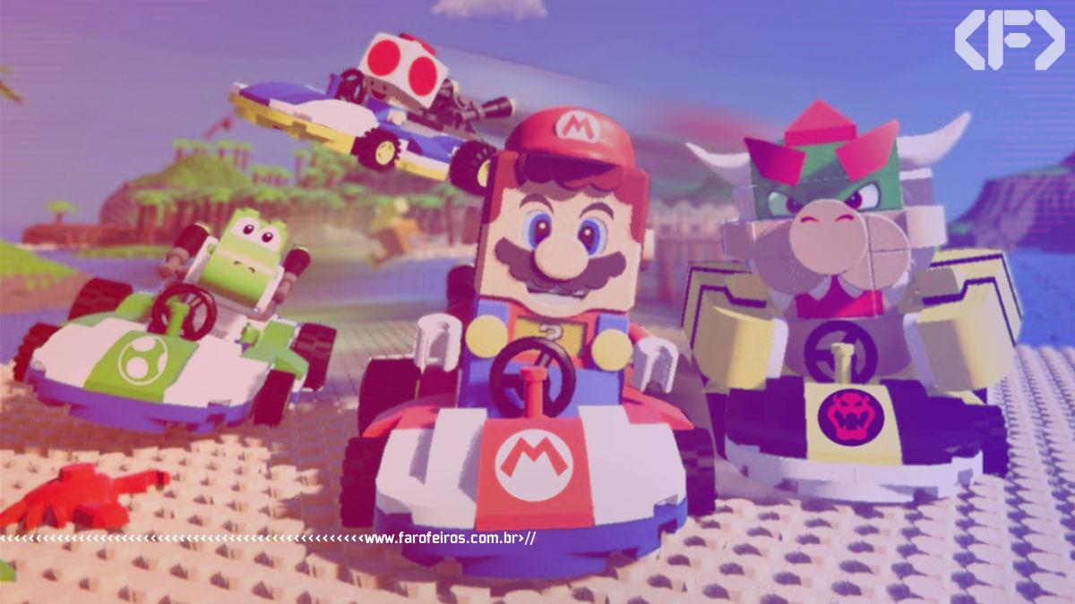 Lego Mario Kart - Super Mario - Blog Farofeiros
