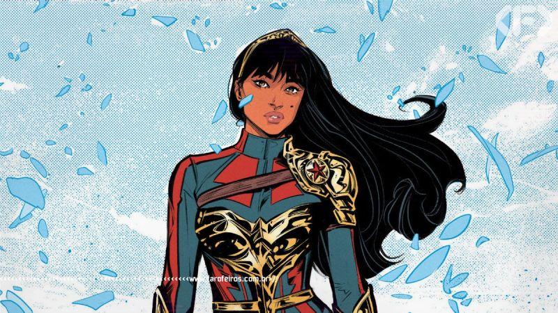 Yara Flor é a melhor personagem de Future State - Mulher Maravilha - DC Comics - Estado Futuro - Blog Farofeiros