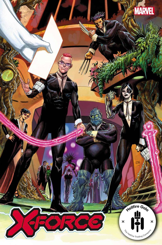 X-Force #20 - Hellfire Gala - A noite de Gala do Clube do Inferno em X-Men - Blog Farofeiros