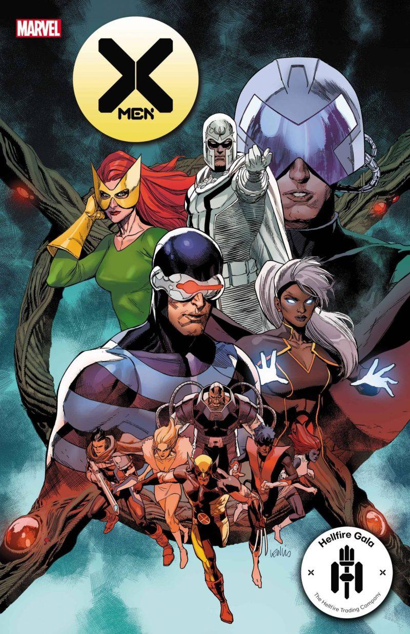 X-Men #21 - Hellfire Gala - A noite de Gala do Clube do Inferno em X-Men - Blog Farofeiros