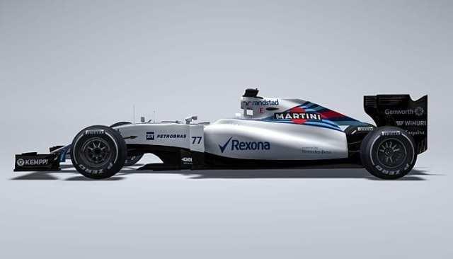 O novo Williams FW37. Esperança para voltar as vitórias (Williams/Globo.com)