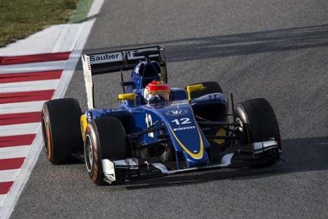 Nasr tem motivos para estar confiante. A Sauber foi a grata surpresa da pré-temporada com um carro constante e bem acabado (Xavi Bonilla/Grande Prêmio)