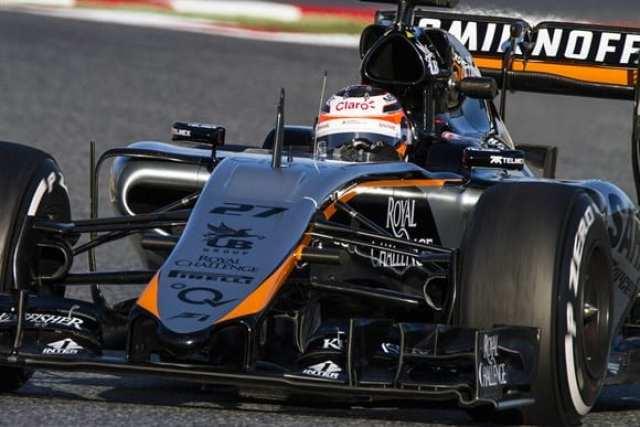 Enfim, o novo Force India ganhou as pistas. No entanto, falta saber exatamente quanto de performance ele pode dar (Xavi Bonilla/Grande Prêmio)