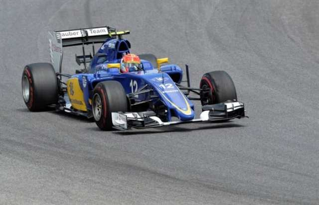 Nasr voltou a sofrer com os freios do Sauber. Terminou em 11º, fora dos pontos (AP)
