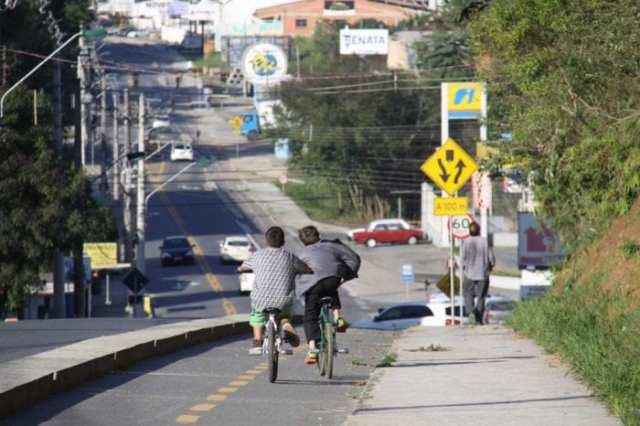 Ruas Gustavo Lueders e Fritz Spernau terão desvio no trânsito (Marcelo Martins)
