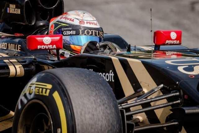 Grosjean teve apenas a lamentar a punição, que o fez largar em nono. Terminou em terceiro depois de uma prova combativa (AP)