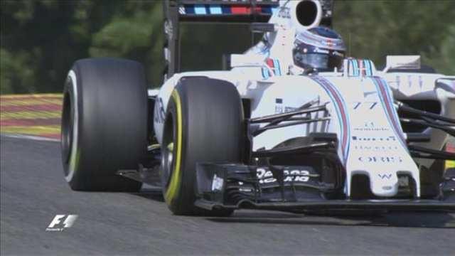 Na Williams de Bottas, a gafe: Três pneus macios, um supermacio (TV)