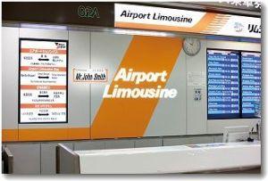 Limousine Bus Counter