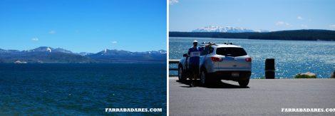 Yellowstone Lake e o Rafa