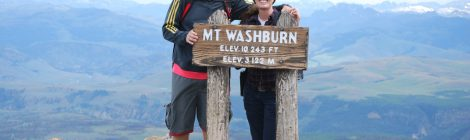 Topo do Mt. Washburn