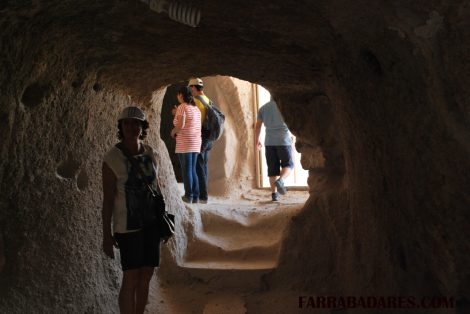 Entrada do castelo de Uçhisar