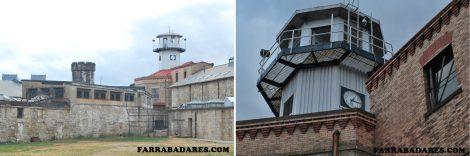Eastern State Penitentiary - torre de observação