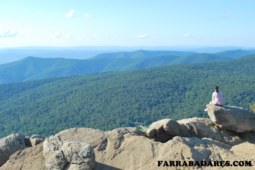 Shenandoah National Park - Mary´s Rock trilha