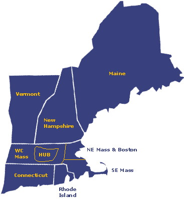 New Englanda - Nova Inglaterra