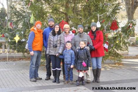 Rittenhouse Square no dia de Natal