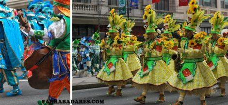 Mummer´s Parade 2014 - a banda