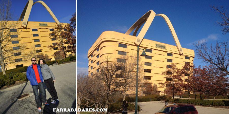 The Longaberger - basket building - Ohio