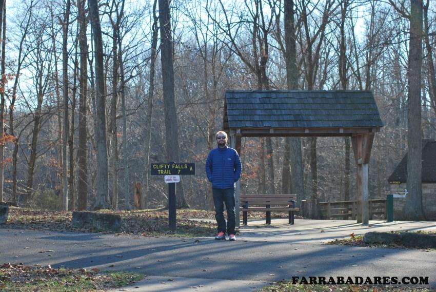 Entrada para a trilha - Clifty Falls State Park