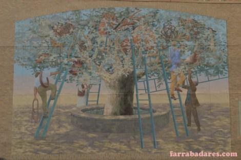 Philadelphia mural - Tree of Knowledge