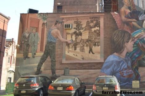 Philadelphia mural - Pride & Progress
