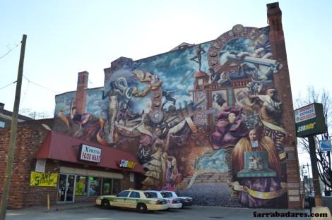 Philadelphia mural - Theater of Life