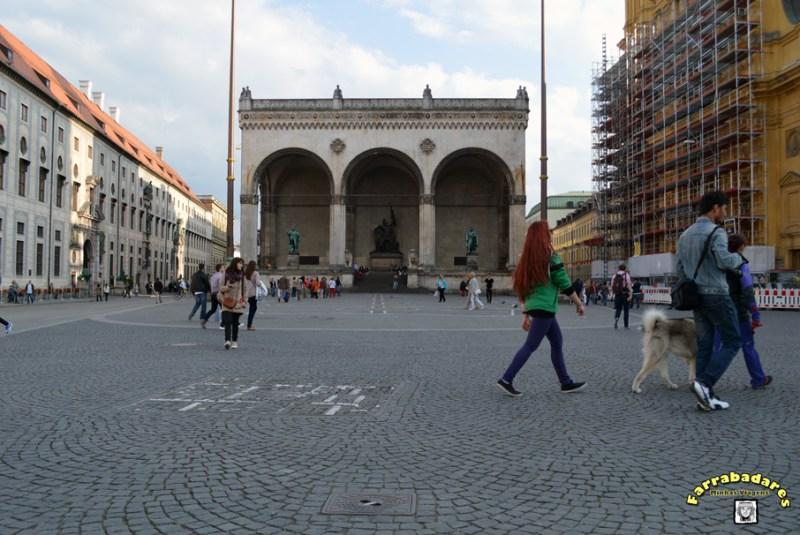 Odeonplatz - MUnique