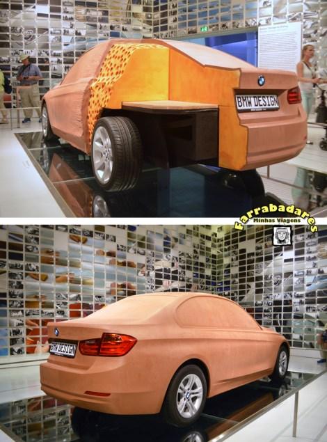 BMW Museu, protótipos de madeira e espuma - Munique