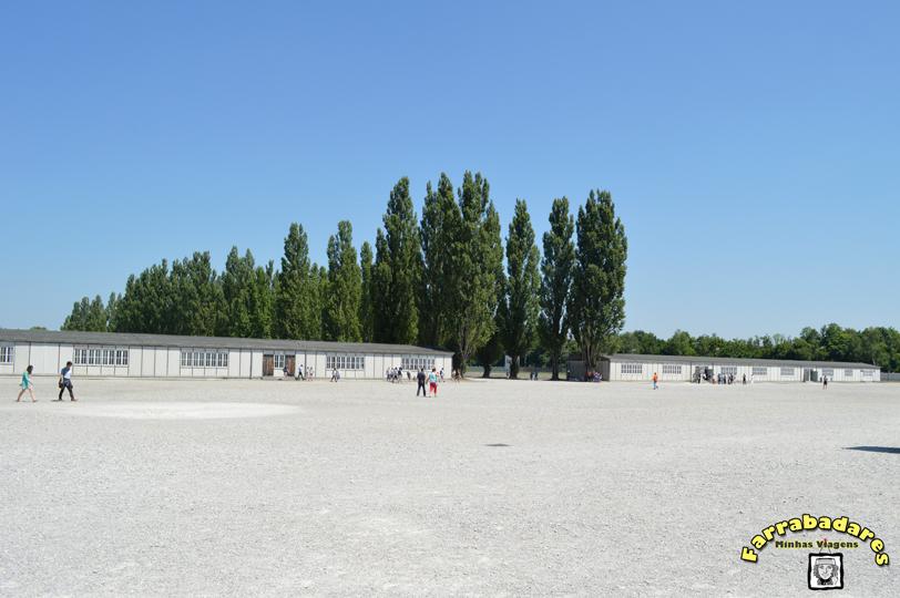 """Dachau - os alojamentos (the """"barracks"""")"""