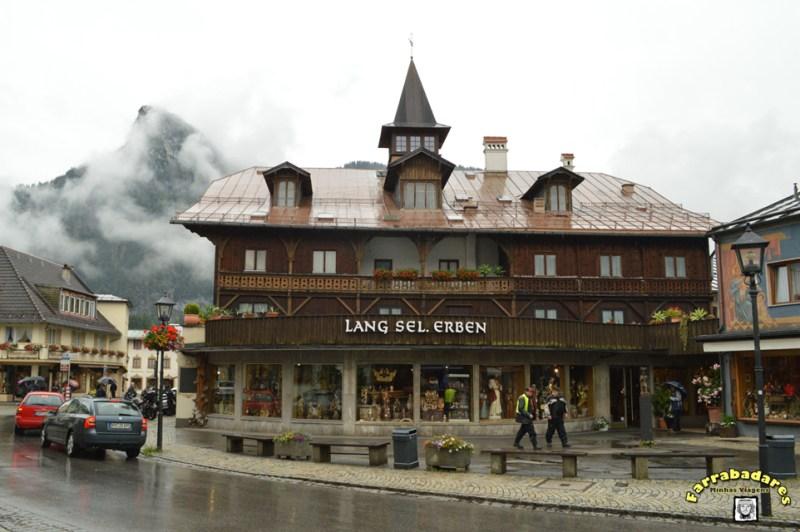 """Oberammergau - Casa """"Lang sel. Erben"""""""