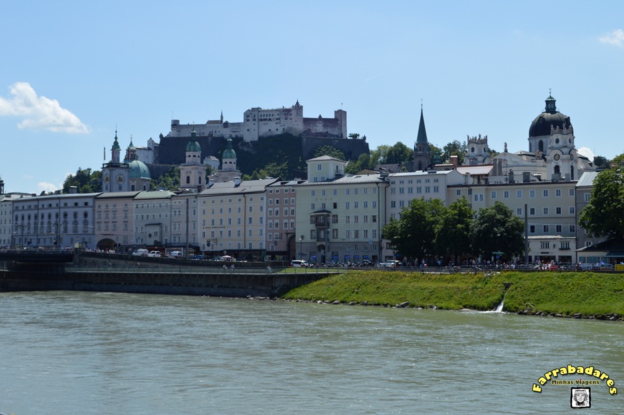 Salzburgo _ Rio Scal e o Castelo