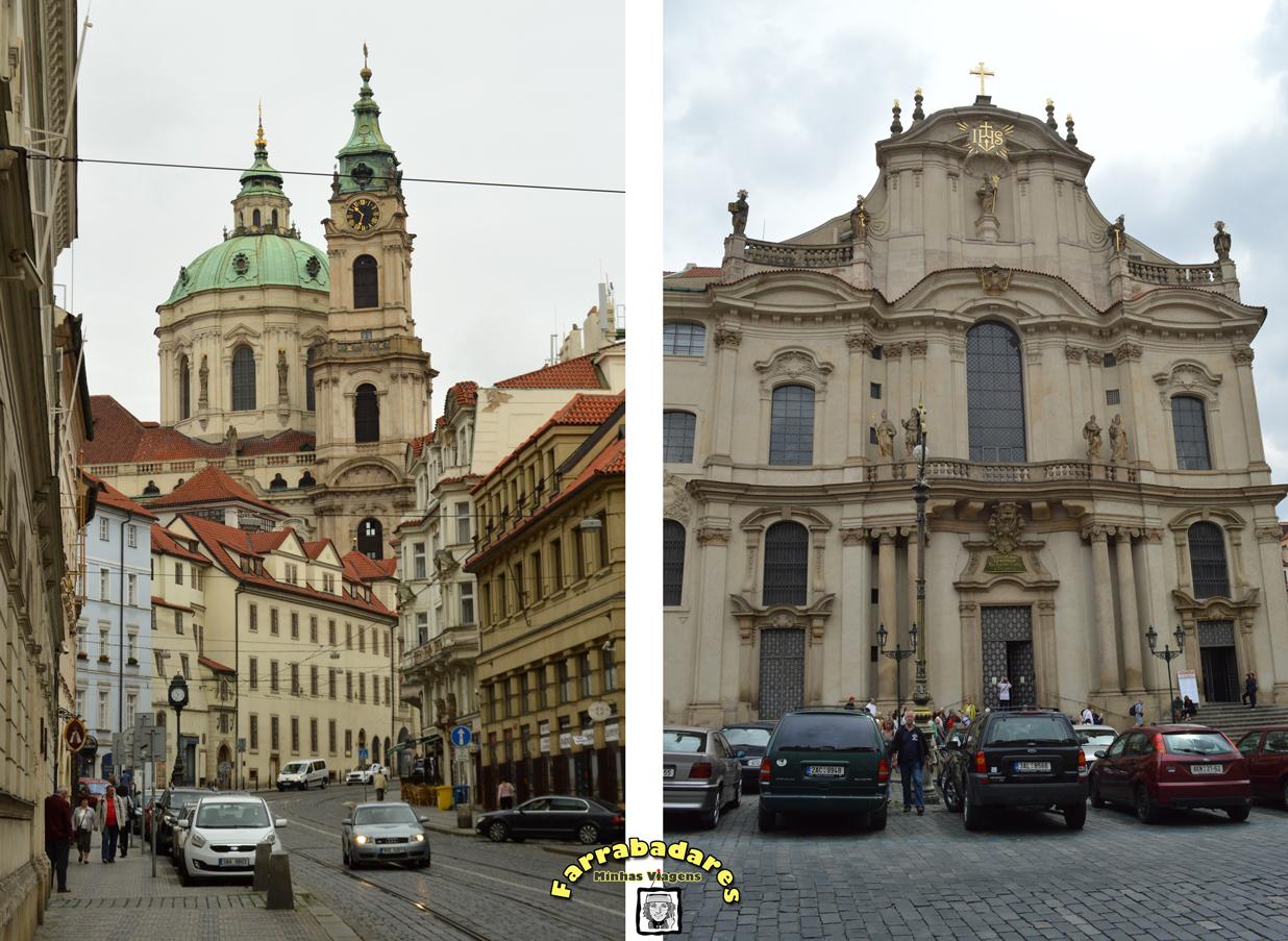 Catedral de São Nicolau em Mala Strana - Praga