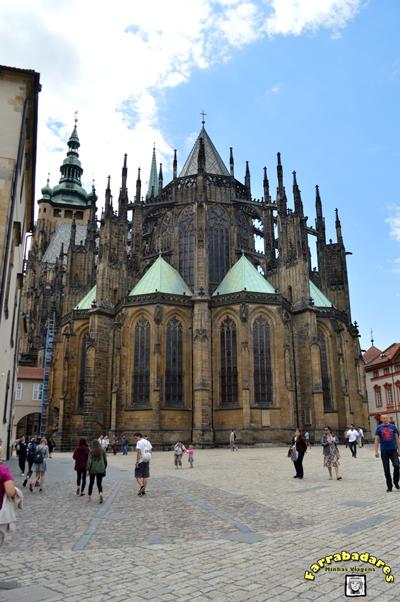 Castelo de Praga - Catedral de São Vito