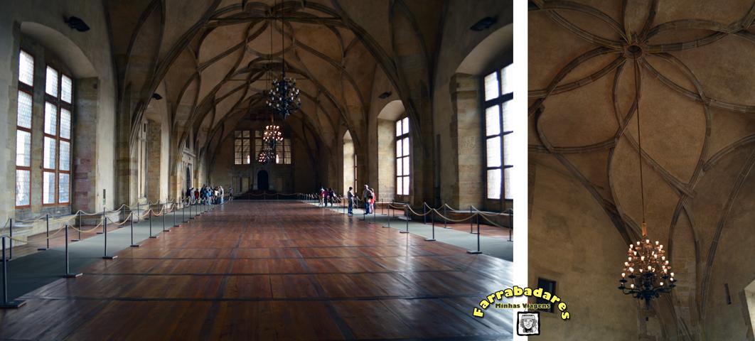 Castelo de Praga - Antigo Palácio Real e a Sala Vladislau