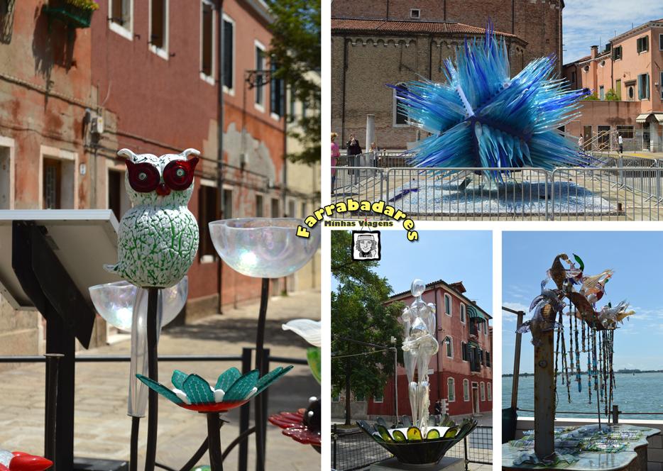 Murano e suas esculturas de rua
