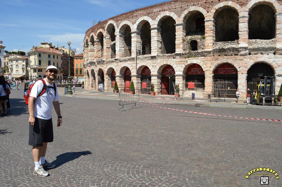 Arena de Verona na Piazza Brà