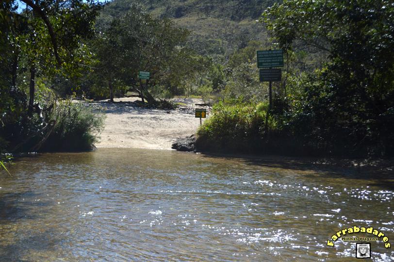 Serra da Babilônia - cruzando o Rio Grande