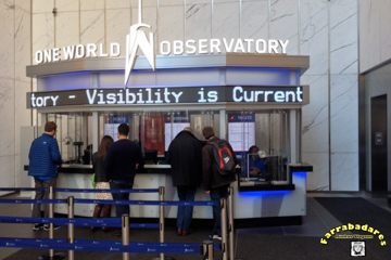 Nova York - One World Oservatory