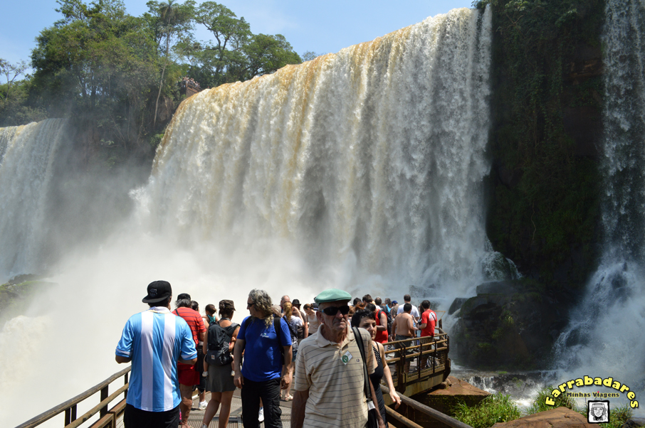 Parque Nacional Iguazú - circuito inferior, Salto Bosseti
