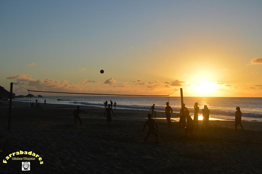 Fernando de Noronha - pôr do sol na Praia da Conceição
