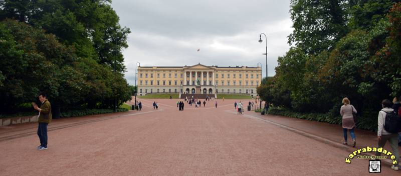 Oslo - Royal Palace