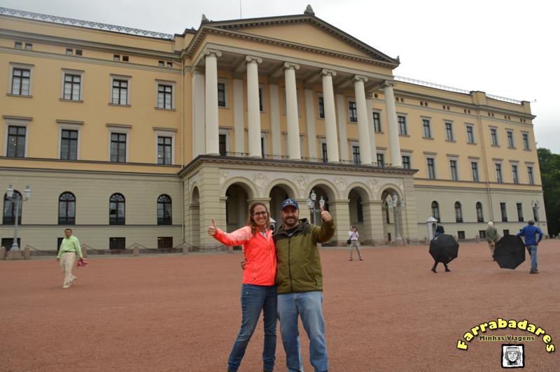 Oslo - Royal Palace - Burba e eu