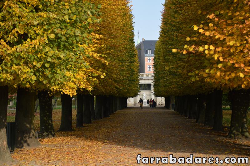 Copenhague - Royal Garden - Castelo Rosenborg